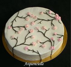 Decoration Patisserie, Holidays And Events, Cake Recipes, Biscuits, Cake Decorating, Food And Drink, Birthday Cake, Sweets, Plates
