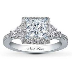 Neil Lane Engagement Rings | neil lane.... gorgeous gorgeous ring! | Wedding stuff