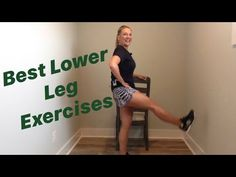 3 Day Workout, Best Leg Workout, 20 Minute Workout, Workout Routines, Lower Leg Exercises, Leg Strengthening Exercises, Weak Knees, How To Strengthen Knees, Senior Fitness