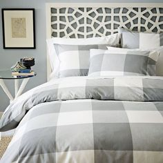Morocco Headboard in White from west elm