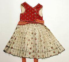 Ensemble.  Date: 1900–1945. Culture: Slovak. Medium: cotton. Dimensions: (a) Length: 29 in. (73.7 cm). (b) Length: 22 in. (55.9 cm).