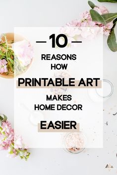Do you want to upgrade your home and are looking for wall art? This blog  post introduces you to Printable Wall Art, which is a game changer for  interior designers that want home decor that's cheap, budget friendly,  highly customizable, perfectly fitting your space, DIY ideas and much  more.   Click the link to read about 10 benefits of printable art so you never  have to buy framed art again.   #printablewallart #printableart