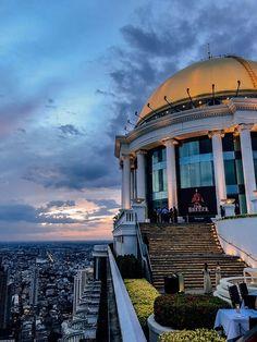 Bangkok | Unser Aufenthalt im lebua at State Tower Hotels In Bangkok, Sky Bar, Open Air, Labuan, Das Hotel, Taj Mahal, Gate, Tower, Singapore