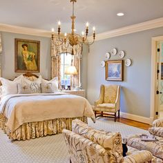Cooper Creek Master Bedroom - traditional - bedroom - nashville - Eric Ross Interiors, LLC