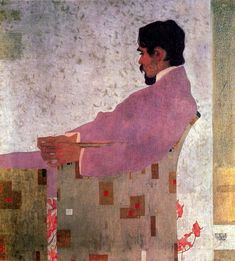 Egon Schiele, Portrait of the Painter Anton Peschka, 1909