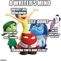 A writer's mind...🥴 #WritingCommunity #writing #amwriting #writers #writerslife #writersmind Writing Memes, That One Person, Smurfs, Mindfulness, Writers, Fictional Characters, Authors, Fantasy Characters, Consciousness