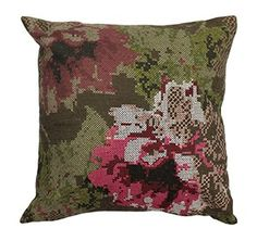 Beautiful floral and fauna watercolour cushions with inspired
