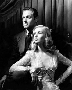 William Holden and Veronica Lake in a promo shot for I Wanted Wings (Mitchell Leisen, 1941)
