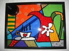 pintar bandejas de desayuno - Buscar con Google Art Pop, Painted Trays, Painted Rocks, Rock Crafts, Arts And Crafts, Funky Painted Furniture, Arte Country, Indian Folk Art, Easy Paintings