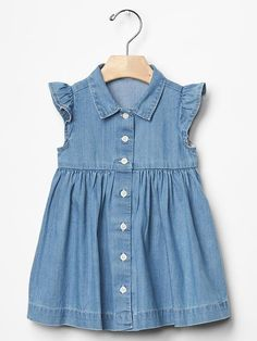 1969 denim shirt dress Product Image