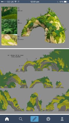 what should i draw Digital Painting Tutorials, Digital Art Tutorial, Art Tutorials, Concept Art Tutorial, Landscape Drawings, Landscape Illustration, Landscape Art, Landscapes, Environment Concept
