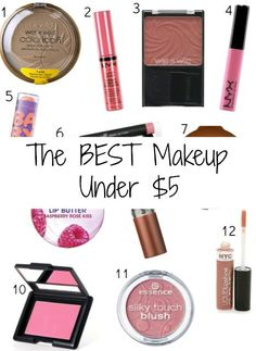 Best makeup under $5