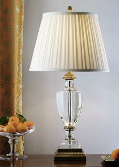 solid crystal table lamp; elegant design; crystal table lamps for transportations like interiors; decorating