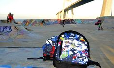 Bonnebags #fashion#surf#stationery#streetwear#bags#backpacks#skate
