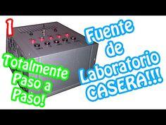 (31) Construye tu propia fuente de laboratorio casera!! Totalmente Paso a Paso (1) - YouTube
