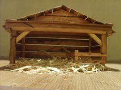 Crèche Nativity Manger Stable for Nativity by TheMomandPopWoodshop, $75.00