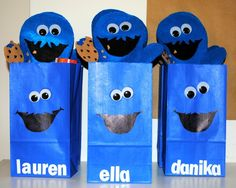 "Photo 1 of 53: Cookie Monster / Birthday ""Levi's Cookie Monster 2nd Birthday"" 