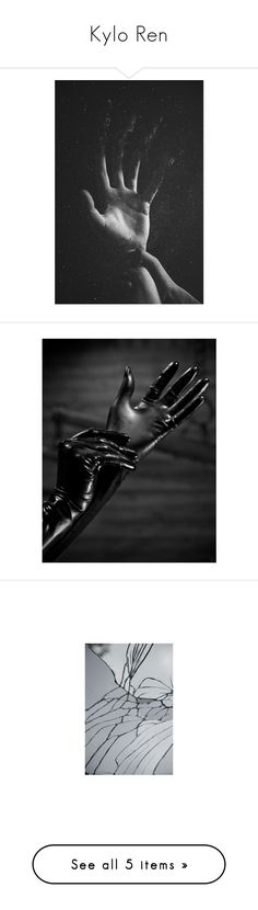 """""""Kylo Ren"""" by whiterabbitmadness ❤ liked on Polyvore featuring accessories, gloves, pictures, real leather gloves, latex rubber gloves, latex gloves, leather gloves and rubber gloves"""