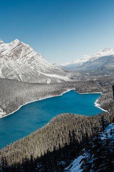 Un voyage dans l'ouest Canadien : Icefield, Jasper et Edmonton