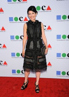 """Lisa Edelstein arrving on the red carpet at """"Yesssss!"""" 2013 MOCA Gala held at The Geffen Contemporary in Los Angeles, California - April 20, 2013 - Photo: Runway Manhattan/AFF"""