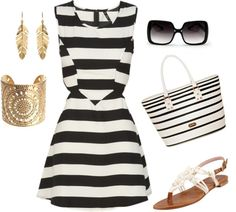 """""""Black and White"""" by jane-oberheim on Polyvore"""