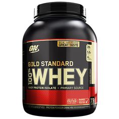Gold Standard 100% Whey - Vanilla Ice Cream (5 Pound Powder) by Optimum Nutrition at the Vitamin Shoppe Mobile