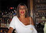 "Big Ang Raiola at her bar ""The Drunkin' Monkey. Big Ang, Mob Wives, Keep The Peace, Music Lovers, Big And Beautiful, Glamour, V Neck, Guys"