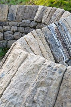 Stone River ~ Goldsworthy Oh I do love his work--so essential and basic.