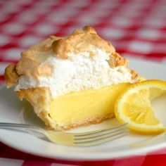 The Very Best Homemade Lemon Meringue Pie. This is the recipe I've been looking for! Just like my mother used to make. My mouth is watering just thinking about the lemony-ness.