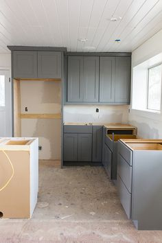 Kitchen Chronicles: The cabinets & floors are in! | Jenna Sue Design Blog