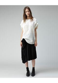 Roll sleeve top by Limi Feu