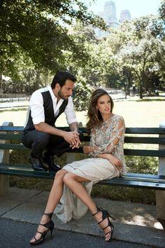 Alessandra Ambrosio and Rodrigo Santoro by Eric Guillemain for Vogue Brasil #evatornadoblog #fashionblog #editorial