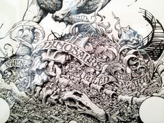 Jurassic Park by Aaron Horkey