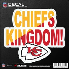 Kansas City Chiefs x Xpression Logo Full Color Car Magnet Nfl Chiefs, Chiefs Shirts, Kansas City Chiefs Football, Nfl Panthers, Logan, Dallas Cowboys Wallpaper, Love Husband Quotes, Car Magnets, Sports