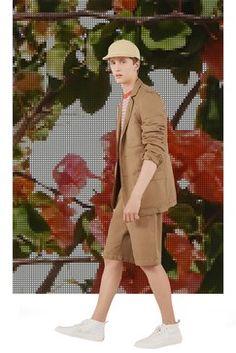 Maison Kitsuné Spring 2018 Menswear Fashion Show Collection