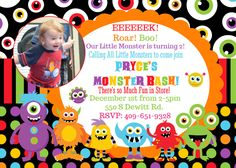 "Photo 31 of 43: Little Monsters / Birthday ""Pryce's 2nd Monster Bash"" 