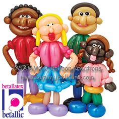 Built some beautiful bodies for Betallic's marketing campaign. Thanks to a wide palette, no two characters were the same. Betallic has the best colors!  #partyballoon #balloon #balloons #stlballoon #sammyj #balloonsculpture #bestballoons #balooontwisting #balloontwister #balloonartist #stlouisballoon #balloonart #instaballoon #balloondesign #sammyjballooncreations #sammyjballoons