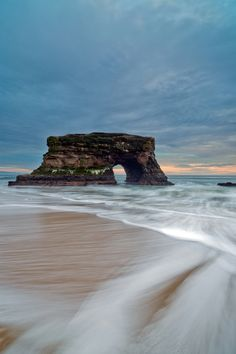 Natural Bridges State Park - this is a our beach, walking distance from our apartment. We would have a dinner picnic here on our staycation