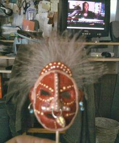 A  Mask I made in Miniature Club.