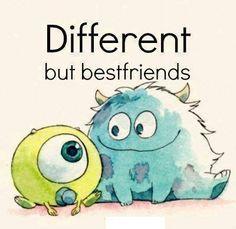 Bob et Sully : Différents mais Meilleurs amis