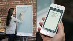 #Whiteboard #Präsentation http://www.moderne-buerowelten.de/medientechnik/praesentationsloesung.html