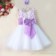 Image result for lavender baby wedding frocks