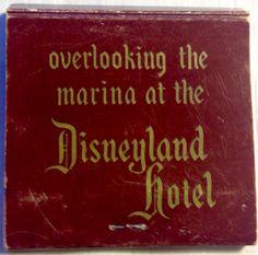 Shipyard Inn at Disneyland #frontstriker #matchbook - To design & order your business' own logo #matches GoTo: GetMatches.com #phillumeny