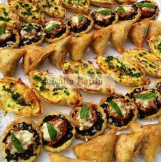 Les secrets de cuisine par Lalla Latifa - Des salés individuels - Les secrets de cuisine par Lalla Latifa
