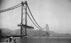 The Golden Gate Bridge just turned 80 years old  take a look at its historic build