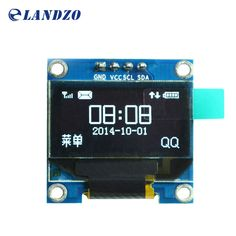 """0.96 inch IIC Serial White OLED Display Module 128X64 I2C SSD1306 12864 LCD Screen Board GND VCC SCL SDA 0.96"""" for Arduino"""