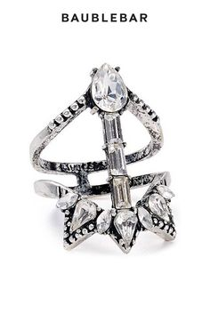 This #ring is the perfect amount of edgy and glam. Grab it at @bloomingdales online and in select stores! #jewelry