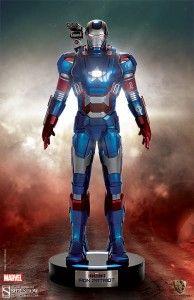 Iron Man 3 Iron Patriot Marvel Life-Size Figures Pre-Orders Go Live