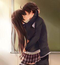 Anime couples, anime couples sleeping, romantic anime couples, sweet co Anime Couples Sleeping, Anime Couple Kiss, Romantic Anime Couples, Anime Couples Drawings, Anime Couples Manga, Chica Anime Manga, Cute Anime Couples, Kawaii Anime, Anime Guys