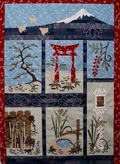 Japanese quilt-I love this idea